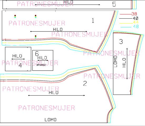 Chaqueta de punto: DIY - Patronesmujer: Blog de costura, patrones y ...