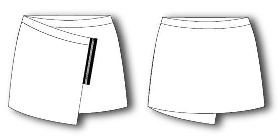 falda pareo-patronemujer