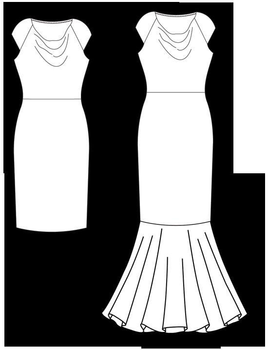 Vestido lentejuelas - Patronesmujer: Blog de costura, patrones y telas.