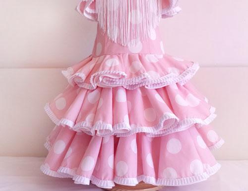 3d23045cb6 Vestido niña de flamenca  DIY - Patronesmujer  Blog de costura ...