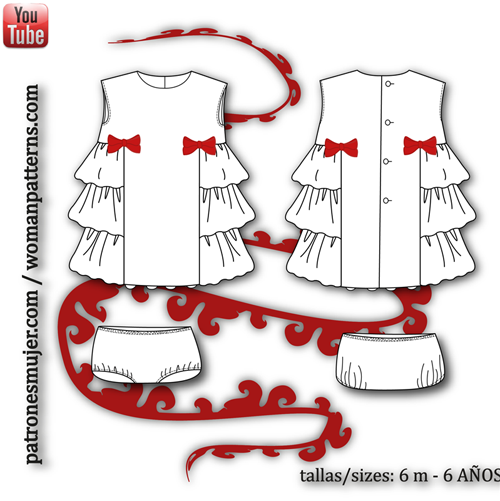 vestido niña-patronesmujer