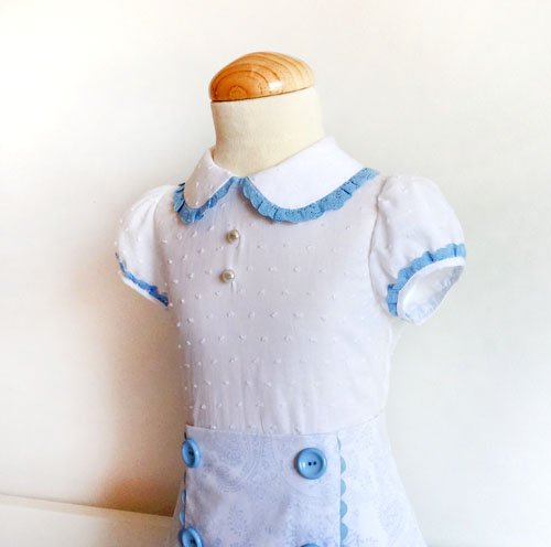 blusa niña- patronesmujer
