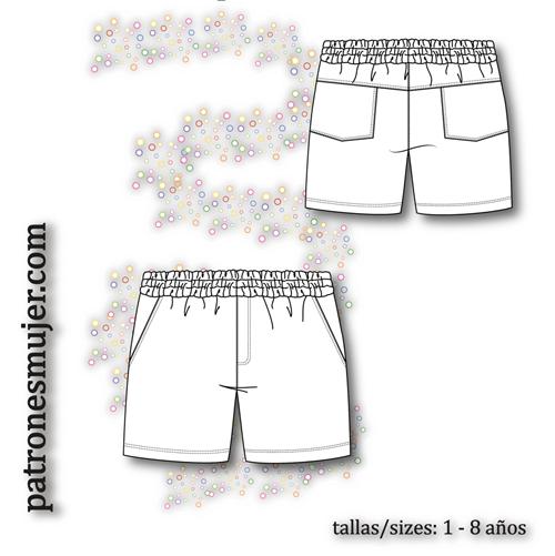 a68a7586c3 Pantalón niño con bolsillos-BLOG - Patronesmujer  Blog de costura ...