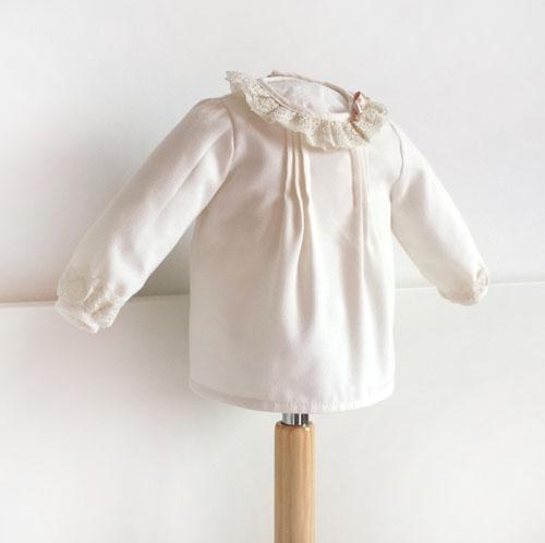 Blusa bebé con manga