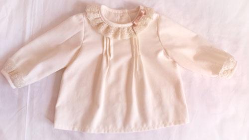 46b4171af Blusa bebé con manga larga  DIY - Patronesmujer  Blog de costura ...