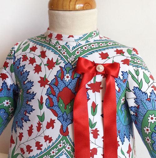 vestido trapecio con manga-patronesmujer