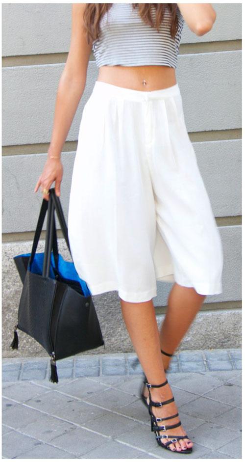 1cb1d8d89 Trazado de la falda pantalón: Patrones - Patronesmujer: Blog de ...