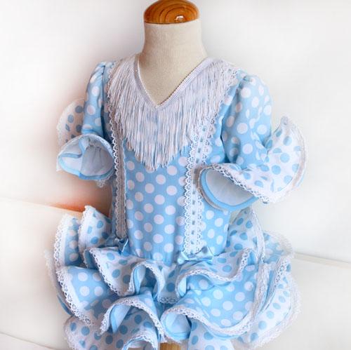 Vestido flamenca estilo Marisol