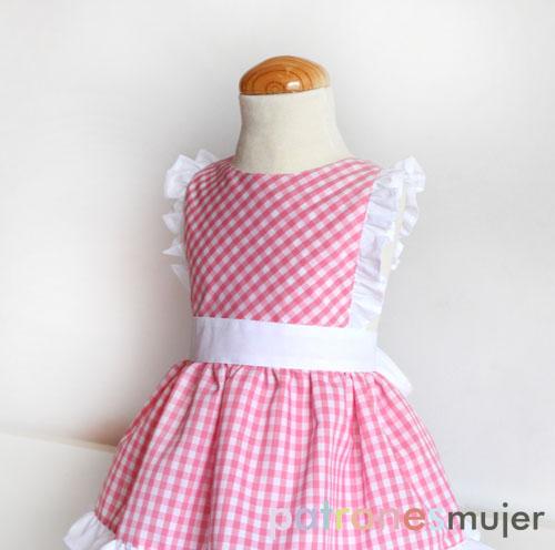 Mandil De Niña Diy Patronesmujer Blog De Costura
