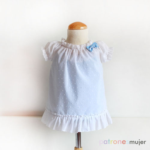 cc4fe59a4 Bañador de niña  Patrones de niña. - Patronesmujer  Blog de costura ...