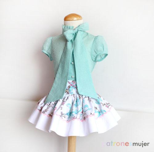 blusa con lazo en el escote-patronesmujer-blog2