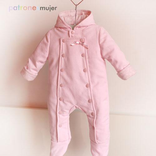 89634ca56dfbe Buzo de bebé  Costura para bebés. - Patronesmujer  Blog de costura ...