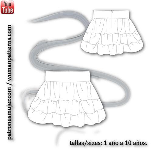 Falda-volantes-patronesmujer