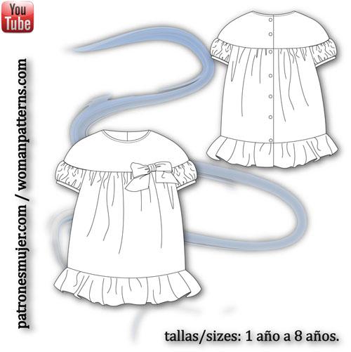 vestido-plumeti-azul-patronesmujer
