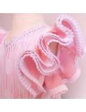 Patrón vestido niña de flamenca.
