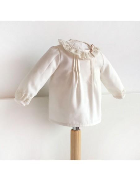 Blusa bebé manga larga.