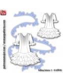 Vestido niña de flamenca estilo Marisol.