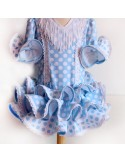 Vestido niña de flamenca.