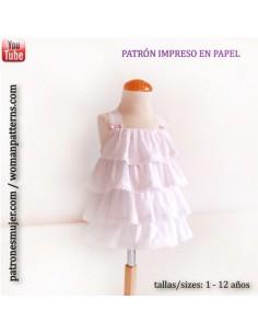 Dress of plumeti.