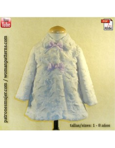 Pile coat for kids
