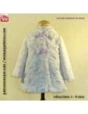 Pile coat for kids