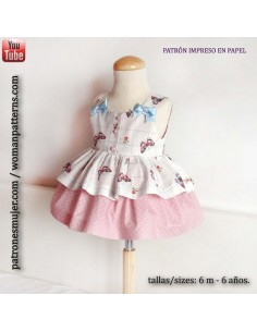 Girl dress butterflies.