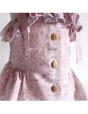 Vestido de lino.