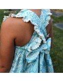 Vestido de algodón.