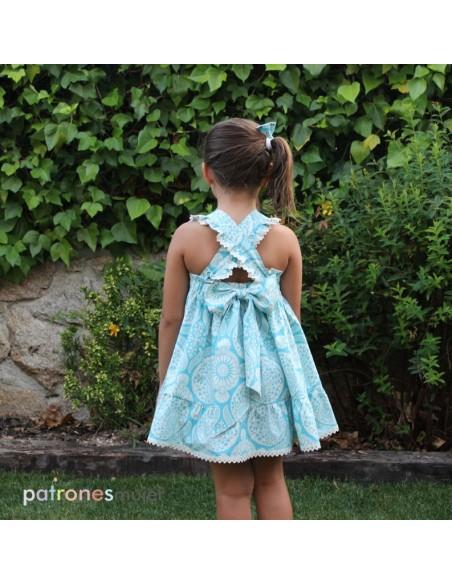 Linen dress.