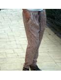 Pantalón sarouel.