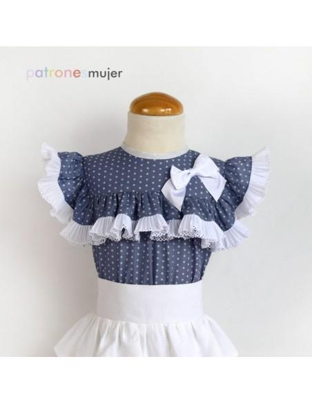 Ruffle dress.
