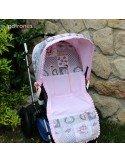 Colchoneta universal para carro de bebé.