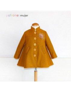Mustard coat.