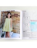 Set ruffled blouse and skirt.