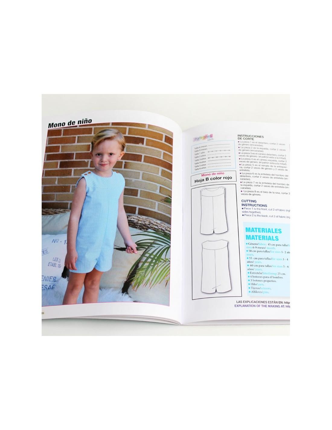 Revista patrones de costura infantil, nº 7. Especial bebé, 28 ...