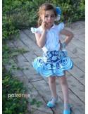 Flamenco set pattern.