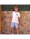 Pantalón niño con goma.