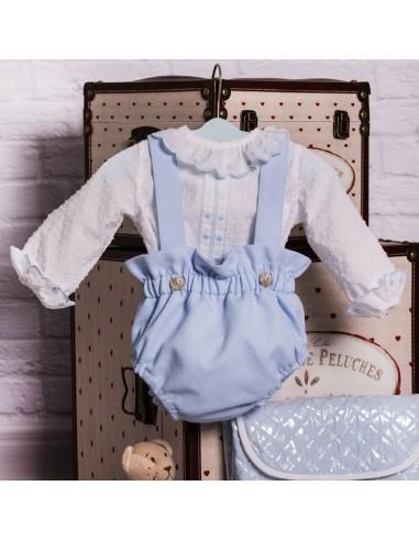 Conjunto bebé lencero
