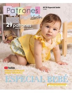 Revista de patrones infantiles nº 10- especial bebé