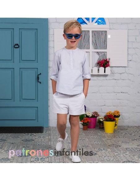 Conjunto camisa y pantalón de niño