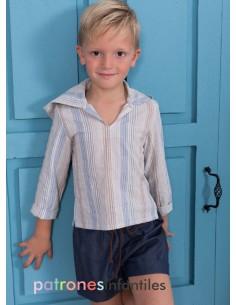 Conjunto de blusa con capucha