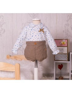 Onesie style blouse and pants
