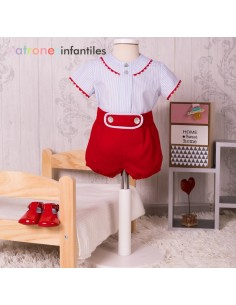 Pants and blouse boy outfit
