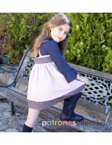 Conjunto pichi doble falda