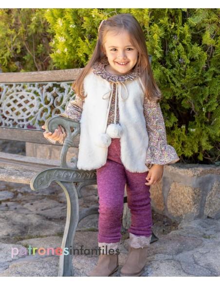 Conjunto de legging y chaleco