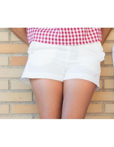 shorts blanco
