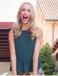 Blusa plumeti verde