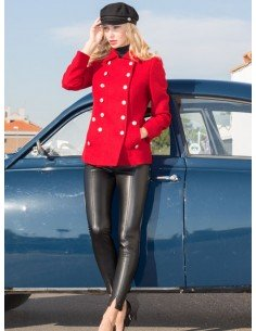 Navy style jacket
