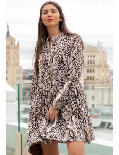 Print animal dress