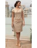 Brocado dress